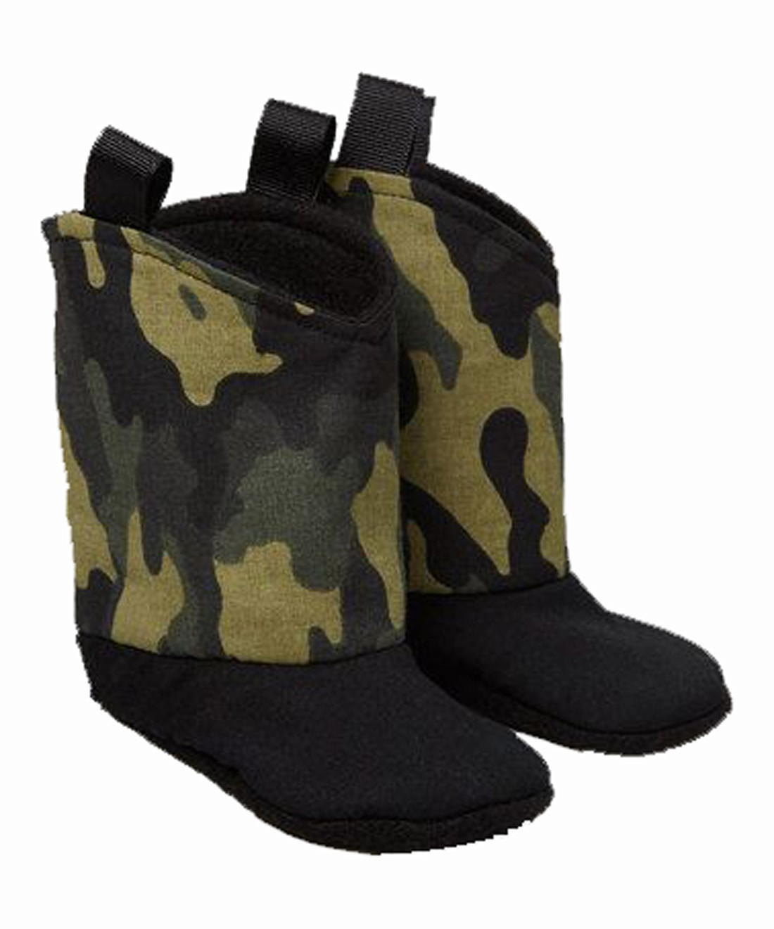 Green Camouflage Boots