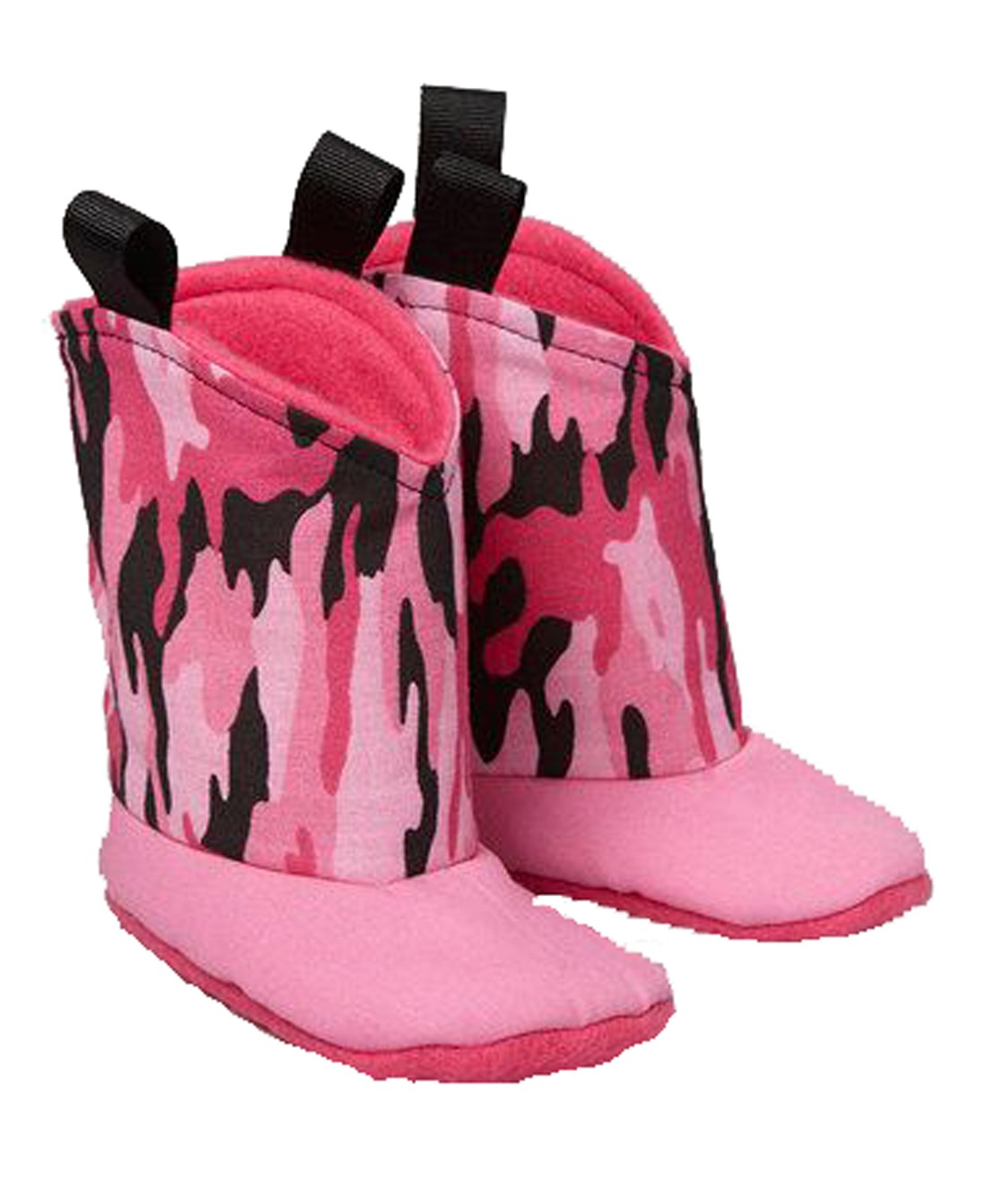 Pink Camouflage Boots