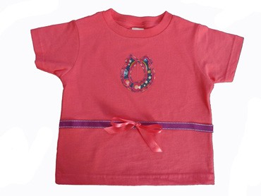 Girl's Horseshoe T-shirt