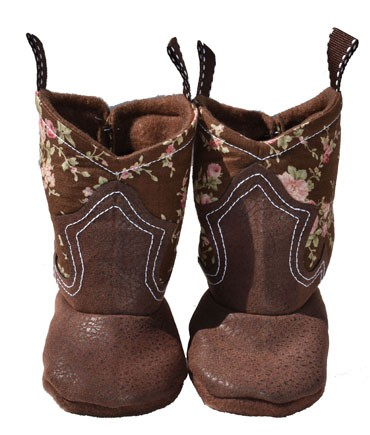 Western Border Soft Cowgirl Boots Little Rosa