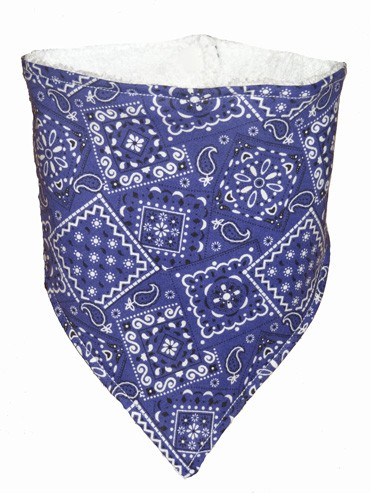Purple Bandana Bib