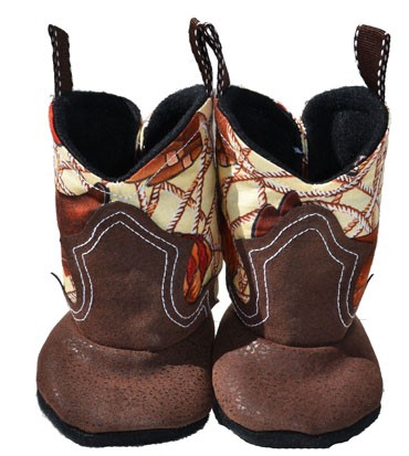Western Border Soft Cowboy Boots Ropin Cowboy Jesse