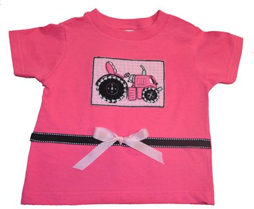 Girl's Tractor T-shirt