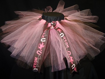 Pink and Brown Cowgirl Tutu